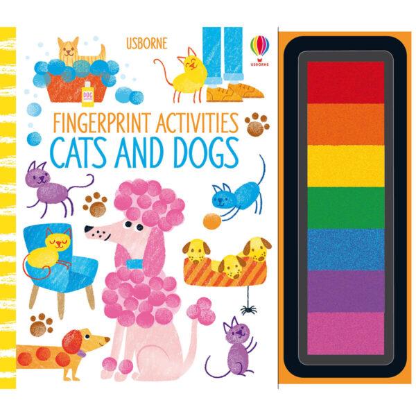 Carte pentru copii - Fingerprint Activities Cats and Dogs - Usborne