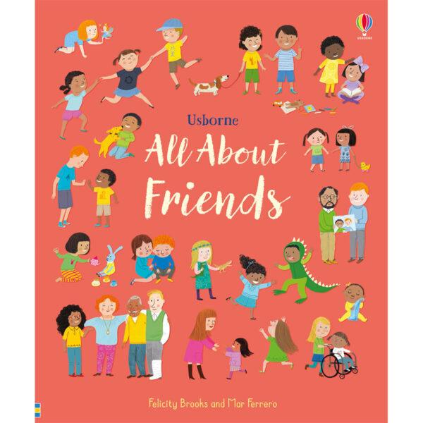 Carte pentru copii - All About Friends - Usborne