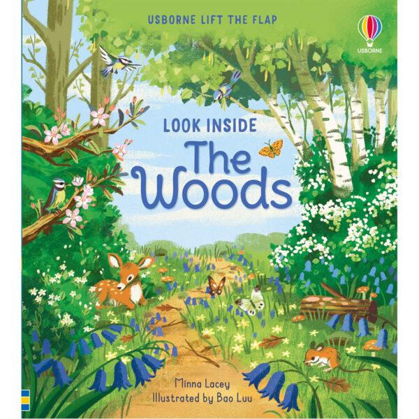 Carte pentru copii - Look Inside the Woods - Usborne