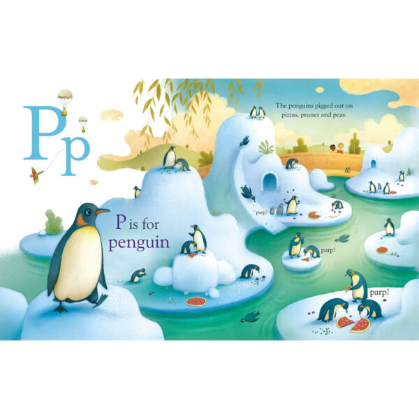 Carte pentru copii - Illustrated Alphabet - Usborne