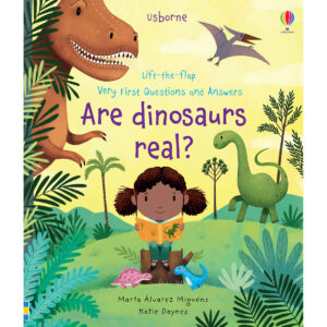 Carte pentru copii - Lift-the-flap Very First Questions and Answers Are Dinosaurs Real? - Usborne