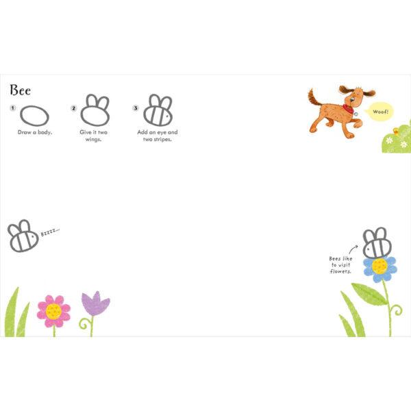 Carte pentru copii - Poppy and Sam's Step-by-Step Drawing Book - Usborne
