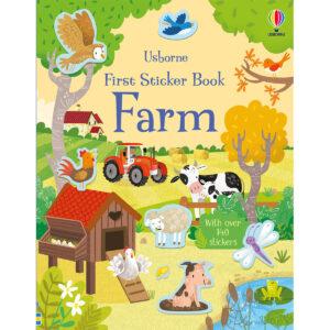 Carte pentru copii - First Sticker Book Farm - Usborne