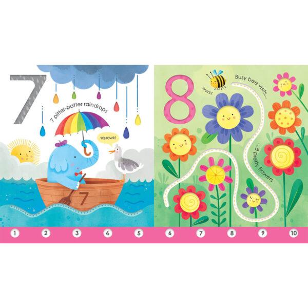 Carte pentru copii - Fingertrail 123 - Usborne