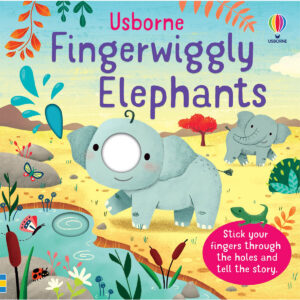 Carte pentru copii - Fingerwiggly Elephants - Usborne