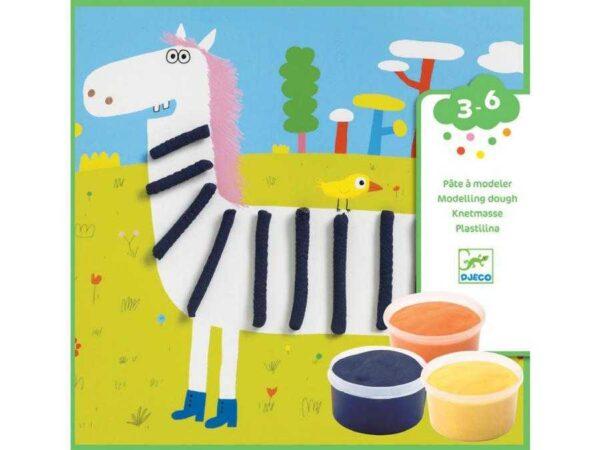 Atelier de modelat plastilina - Animale - Djeco