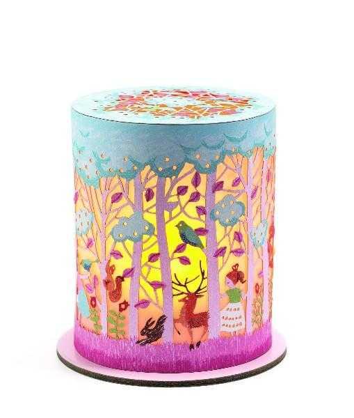 Obiect decorativ - Lampa de veghe - Padurea - Djeco