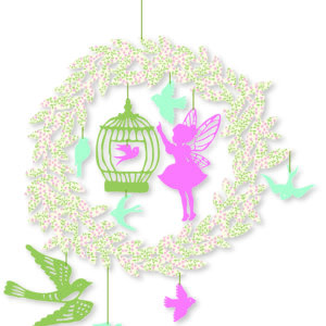 Decoratie mobila pentru camera copilului - Zana - Djeco