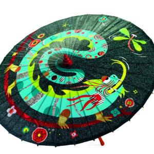 Umbrela pentru copii - Dragonul si libelula - Djeco