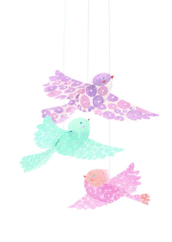 Decoratie camera copilului - Pasari - Djeco
