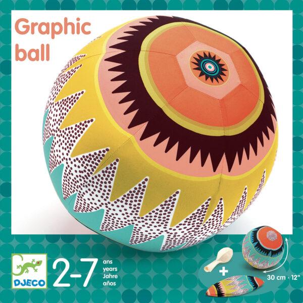 Minge usoara - Graphic ball - Djeco