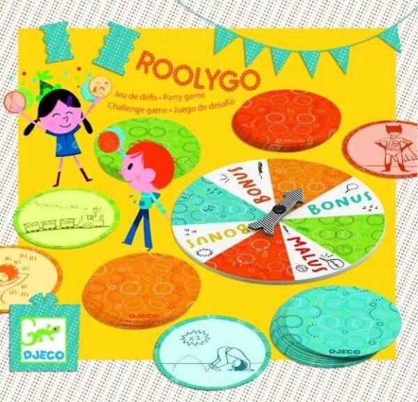 Joc cu provocari - Roolygo - Djeco