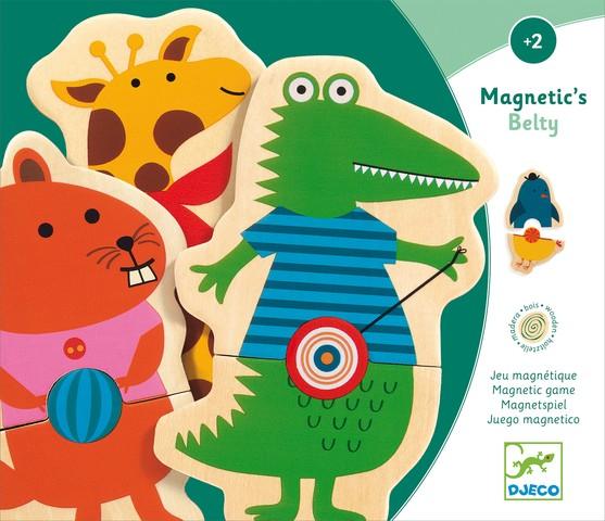 Joc cu magneti - Animale cu buline - Djeco