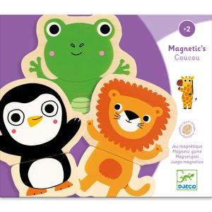 Joc cu magneti - Animale prietenoase - Djeco