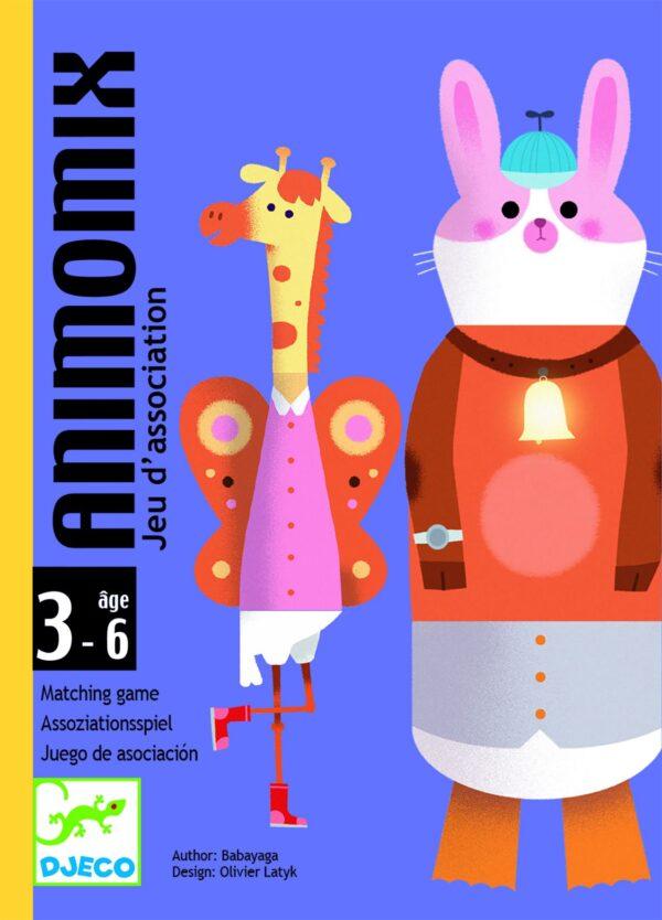 Joc de carti - Animomix - Djeco