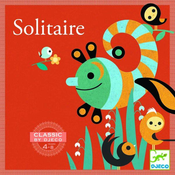 Joc de societate pentru copii - Solitaire - Djeco