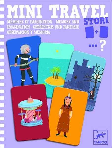 Joc de memorie si imaginatie - Mini travel - Djeco