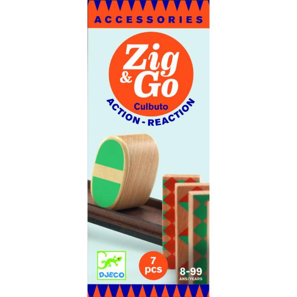 Set 7 piese Rampa - Culbuto - Zig & Go - Djeco