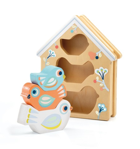 Jucarie din lemn - Baby Birdi - Djeco