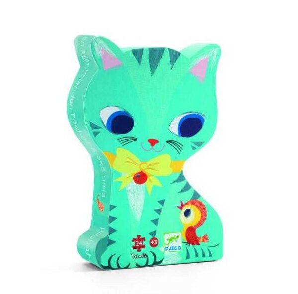 Puzzle - Pisici jucause - Djeco