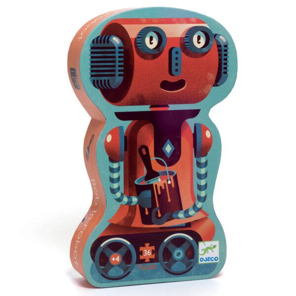 Joc de gandire - Puzzle - Robotul Bob - Djeco