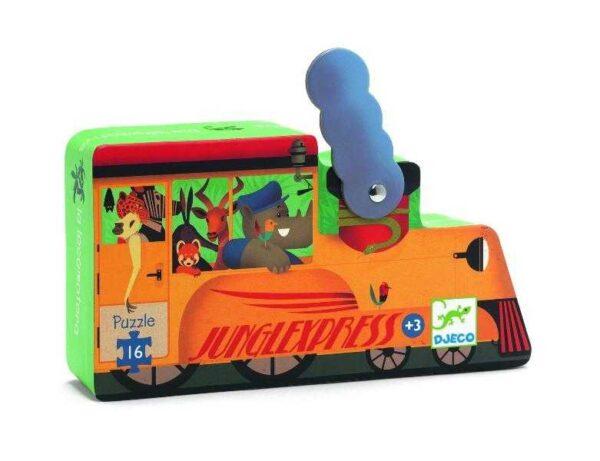 Puzzle - Locomotiva de tren - Djeco