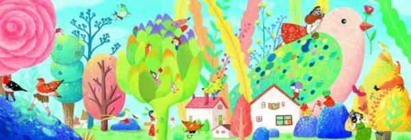 Joc de gandire - Puzzle Miss Birdy - Djeco