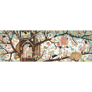 Puzzle - Casuta din copac - Djeco