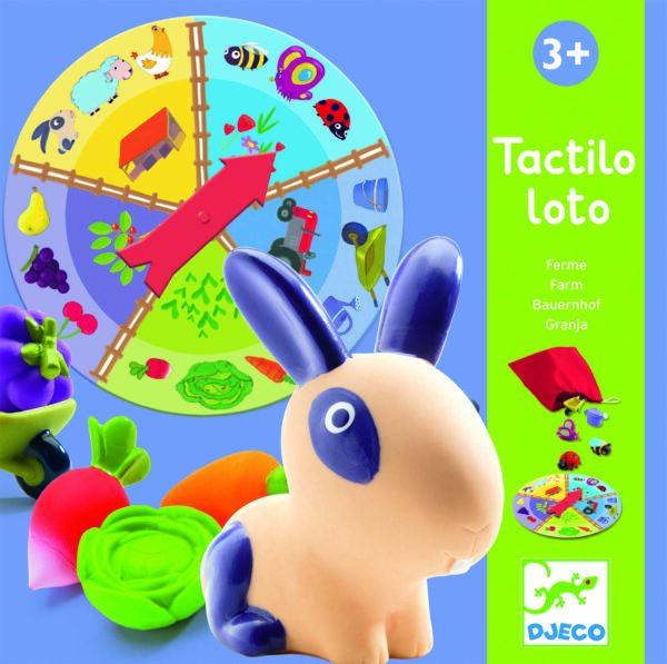 Joc tactil - Ferma Tactilo Loto - Djeco