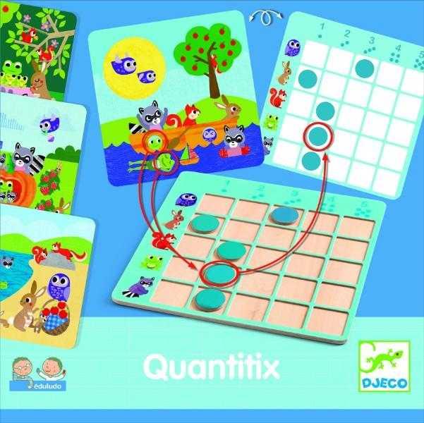 Joc de logica - Quantitix - Djeco