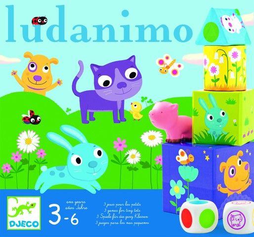 Colectie de jocuri - Ludanimo -Djeco
