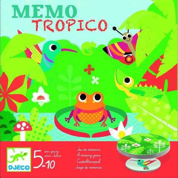 Joc de memorie - Memo Tropico - Djeco