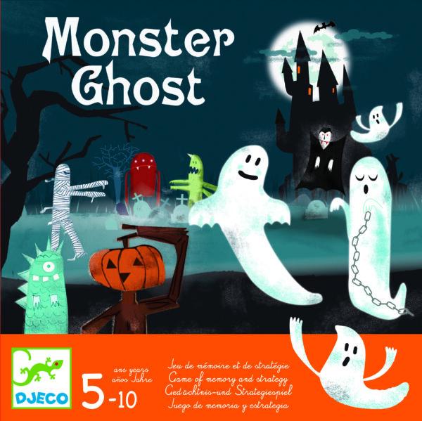 Joc de memorie si strategie - Monster Ghost - Djeco