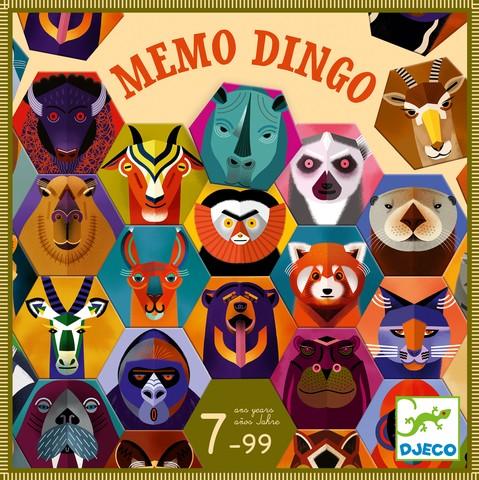 Joc de memorie pentru avansati - Memo Dingo - Djeco