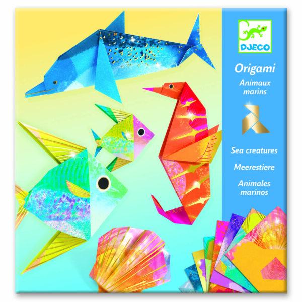 Joc creativ - Origami - Ocean - Djeco