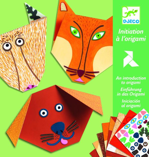 Joc de creativitate - Origami - Animale - Djeco