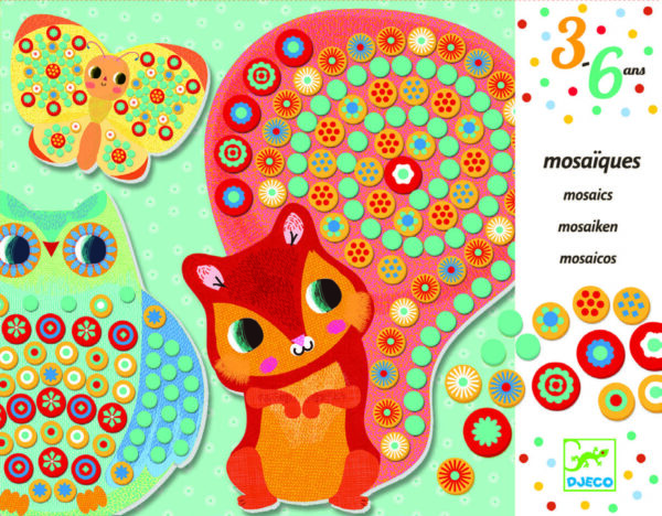 Joc creativ - Mozaic Milfiori - Djeco