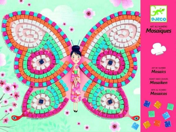 Joc creativ - Mozaic Fluturi - Djeco