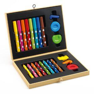 Cutie cu culori pentru primele desene - Djeco