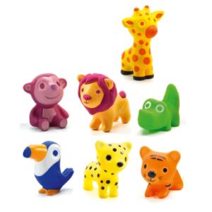 Animalute din silicon - Troopo savana - Djeco