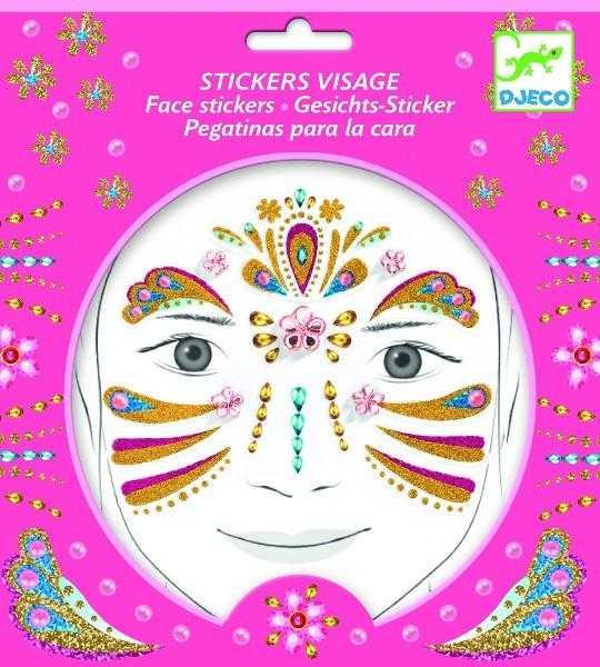 Stickere pentru fata - Printesa - Djeco