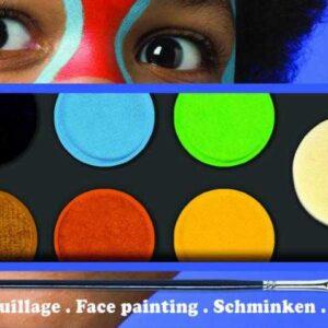 Culori pentru pictura pe fata - Djeco