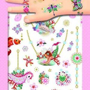 Tatuaje pentru copii - Bijuterii - Djeco