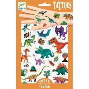 Tatuaje metalice - Dinozauri - Djeco