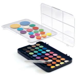 Paleta artistului - 50 de culori guase - Djeco