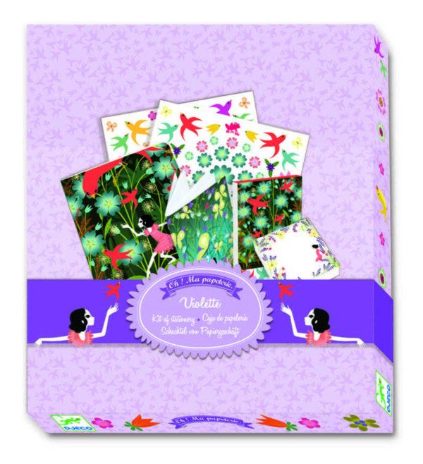 Agenda personalizata - Violette - Djeco