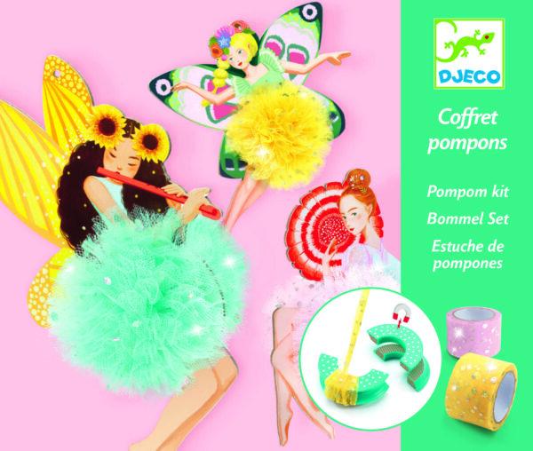 Atelier creativ - Zane pompom - Djeco