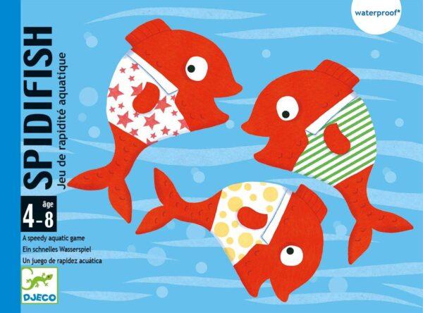 Joc acvatic cu carti - Spidifish - Djeco