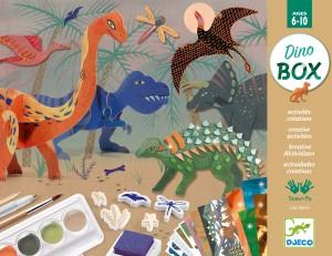 Atelier creativ - Lumea dinozaurilor - Djeco
