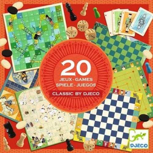 Colectie de 20 jocuri clasice - Djeco